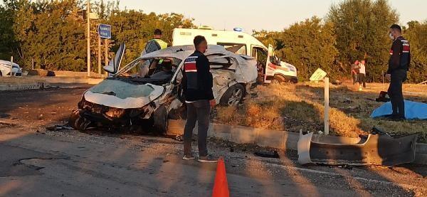 Kırıkkale'de korkunç kaza: 6 kişi hayatını kaybetti