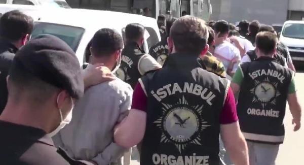 Arap Emrah Çetesi'ne operasyon! 23 kişi adliyeye sevk edildi