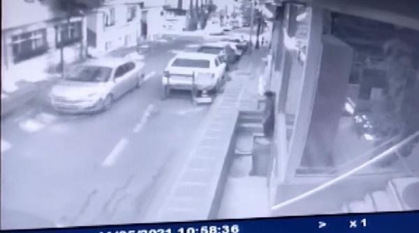 Bayrampaşa'da dehşet anları! Kaçırmaya çalıştı, engel olanları otomobille ezdi