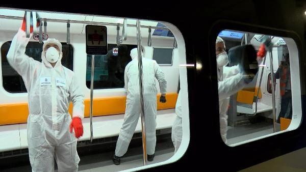 İstanbul metrolarında 'virüs' önlemi