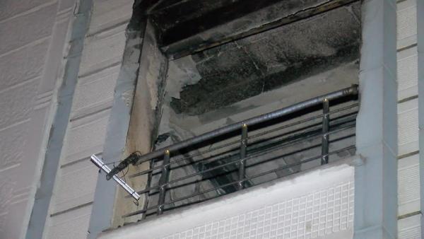 Esenyurt'ta 4 katlı binada korkutan yangın!