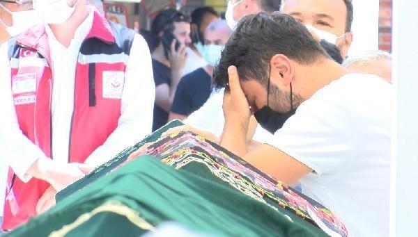 İkizlere acı veda... Kerem Ali ile Ayşe Miray'ın cenazesinde gözyaşları sel oldu