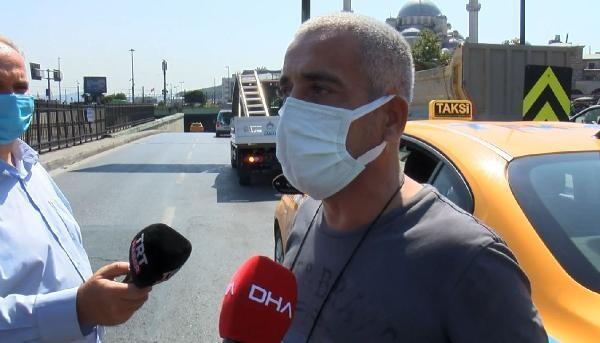 Taksim'den Şişli'ye 500 lira istedi! Polisi turist sanan taksici hayatının şokunu yaşadı