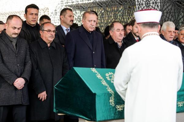 Cumhurbaşkanı Erdoğan Kadir Turgut'un cenaze namazına katıldı