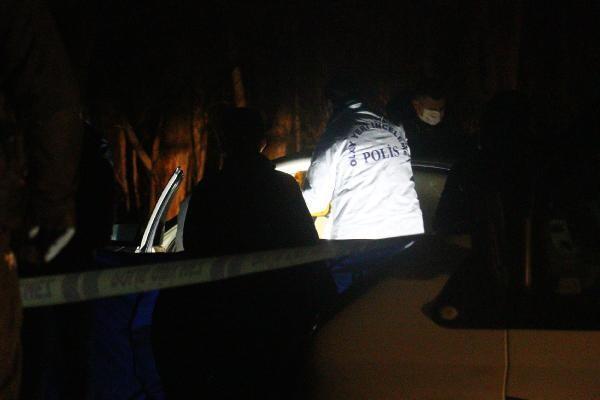 Ankara'da sır cinayet! Boş arazide aracının içinde bulundu