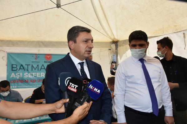 Batman, Türkiye'de aşının en az uygulandığı kentler arasında... Vali Şahin, 'Maalesef kötü bir haberim var' diyerek çağrı yaptı