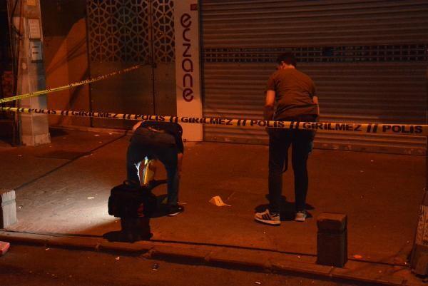 Beyoğlu'nda 2 kişiye ateş açıldı: 1 yaralı