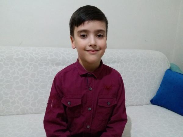 İlkokullu Mehmet'in duygulandıran Türk Bayrağı hassasiyeti