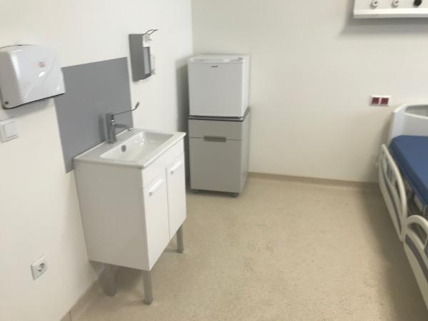 Sancaktepe'deki hastanenin odaları görüntülendi
