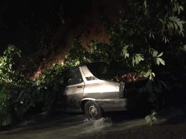 Rize'de heyelan! 2 binadaki 30 kişi tahliye edildi