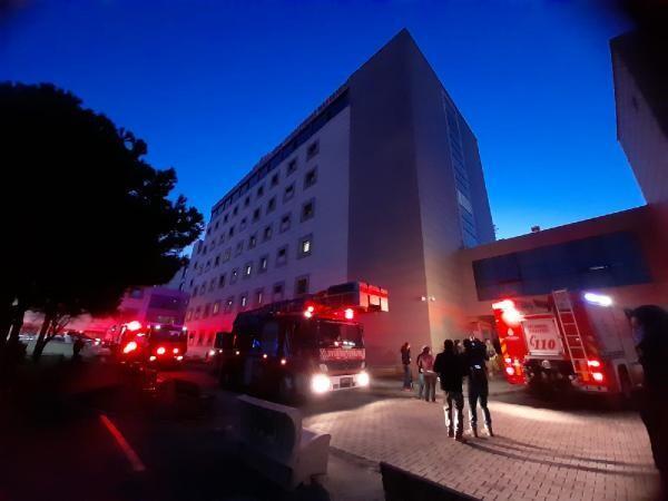 Son dakika... Zeynep Kamil Hastanesi'nde yangın! Hastalar tahliye edildi