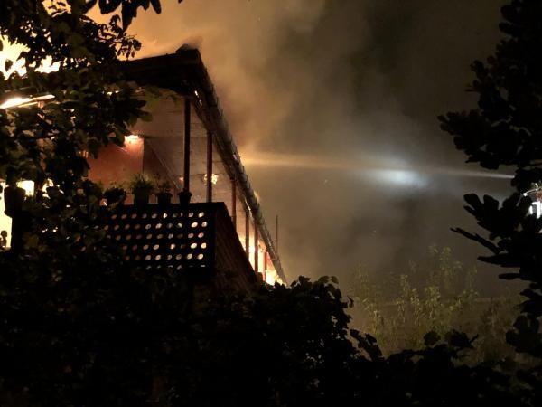 Zonguldak'ta aynı mahallede bir haftada ikinci yangın