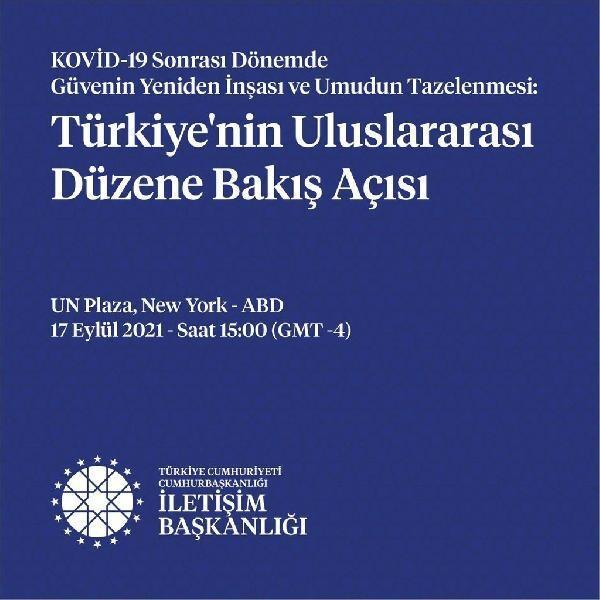 İletişim Başkanlığı, BM Genel Kurulu öncesi New York'ta panel düzenleyecek