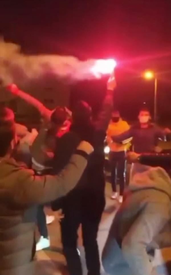 Antalya'da tepki çeken görüntüler! Magandalar dehşet saçtı