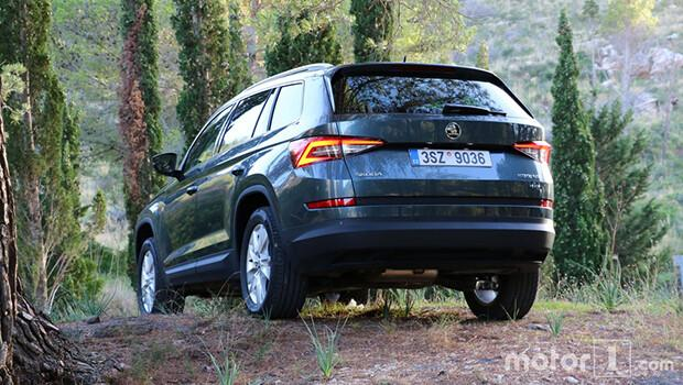 Skoda'nın iddialı SUV'si Kodiaq test sürüşünde