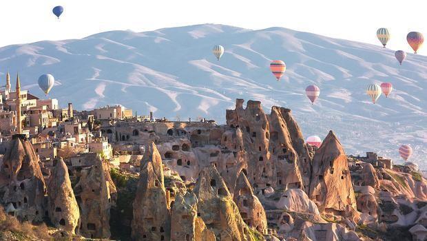 Görülmesi gereken 100 turizm destinasyonuna Türkiye'den 3 yer girdi...