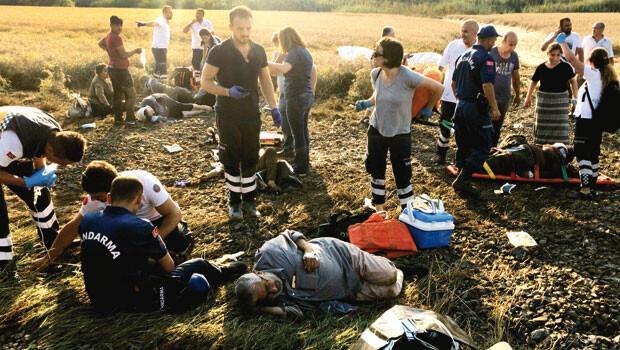 Çorlu'da tren faciası: 24 kişi hayatını kaybetti, 124 kişi yaralandı