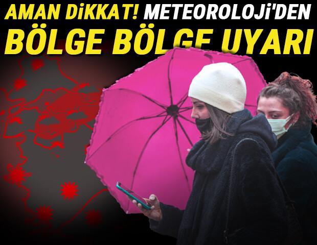 Son dakika: Meteoroloji'den Rize'ye sel uyarısı