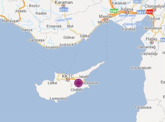 Son dakika: Kıbrıs'ta korkutan deprem! Hatay ve Mersin çevrelerinde de hissedildi!
