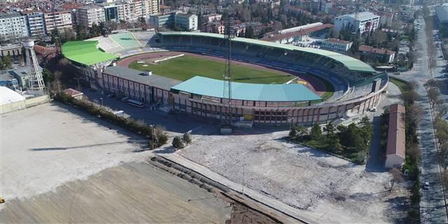 Millet Bahçesi için ilk yıkım Konya'da başladı
