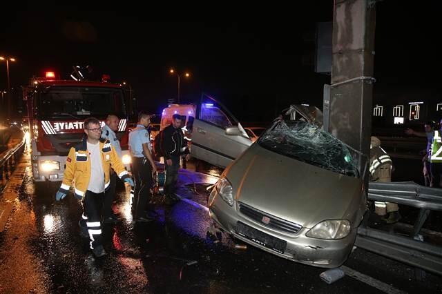 Sefaköy'de korkunç kaza: Bir kişi öldü