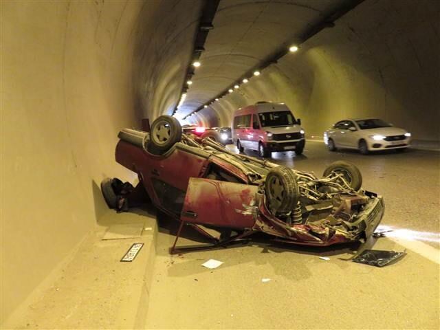 İstanbul'da tünelde faciadan dönüldü..
