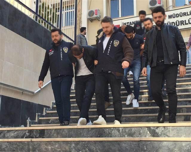 'Sürüngenler' çetesinin estetik yaptıran lideri lüks rezidansta yakalandı