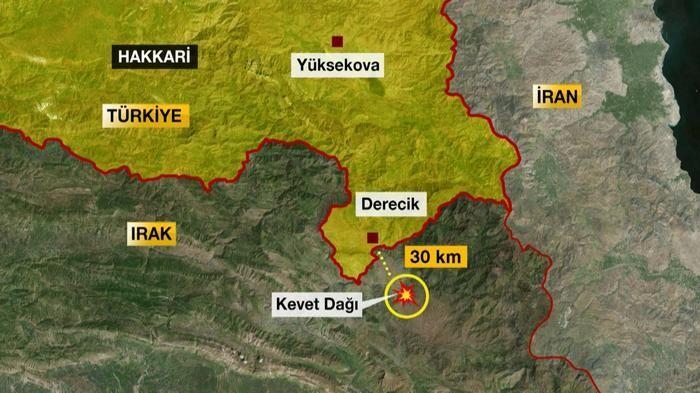 Kevet Dağı'nda PKK saldırısı böyle önlendi