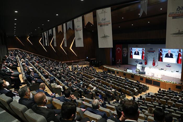 Son dakika... Cumhurbaşkanı Erdoğan: 'Müjdeyi milletime vermek istiyorum. Son bir ayda 3 kuyuda petrol keşfettik'