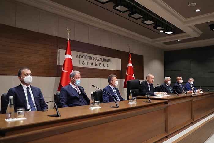 Son dakika... Cumhurbaşkanı Erdoğan'dan ABD Başkanı Biden ile görüşme öncesi net mesajlar: ABD'ye sözleşmeye uymadı, F-35'lere el koydu