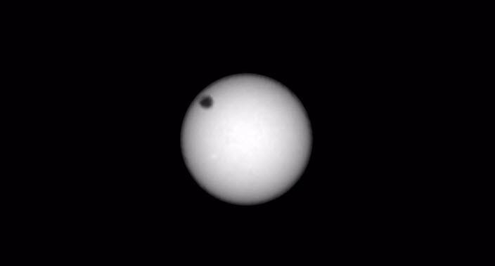 Mars'ta güneş tutulması yaşandı: İlk görüntüler geldi