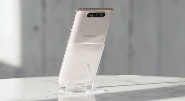Galaxy A80: Samsung'un yeni amiral telefonu