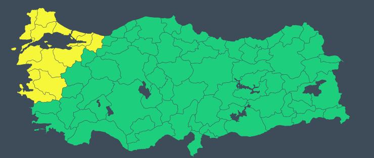 Son dakika... İstanbul ve çok sayıda kent alarmda! Meteoroloji'den peş peşe uyarılar...