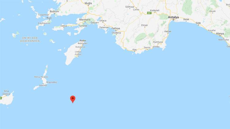 Son dakika haberler... Akdeniz'de 4.7'lik deprem