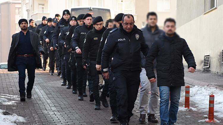 Kayseri merkezli 19 ilde FETÖ'ye kritik operasyon