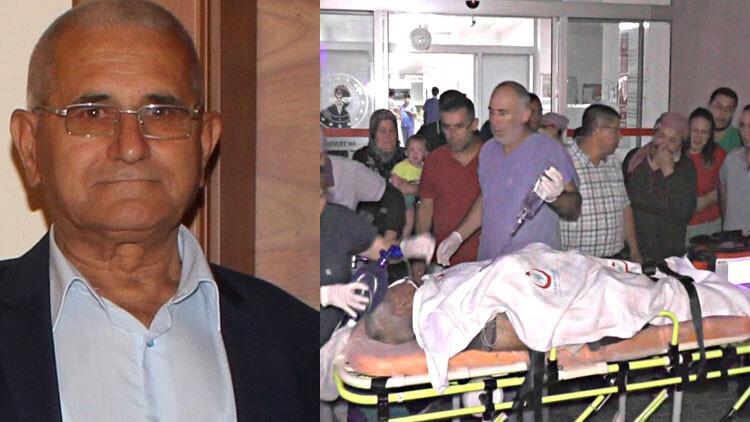 Antalya'da yaşlı adamı döverek öldürdü!