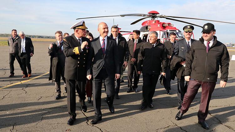 İçişleri Bakanı Soylu Ukrayna'da