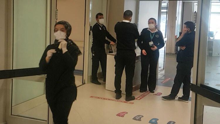 Son dakika haberler: Beylikdüzü Devlet Hastanesi'nde Çin'den gelen hostes alarmı