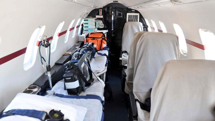 Sağlık Bakanlığı Rusya'daki Türk vatandaşı için ambulans uçak gönderdi