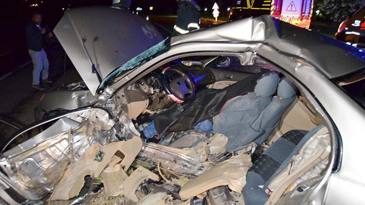 Aksaray'da korkunç kaza! 1 ölü, 3 yaralı