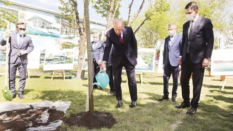2023'e kadar 81 kente 81 milyon m2 millet bahçesi