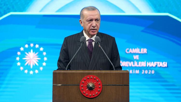 Son dakika haberler... Cumhurbaşkanı Erdoğan'dan Macron'a tepki: Hadsizliktir, edepsizliktir