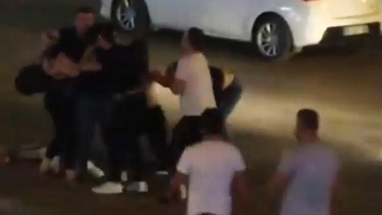 Bursa'da sokak ortasında kavga