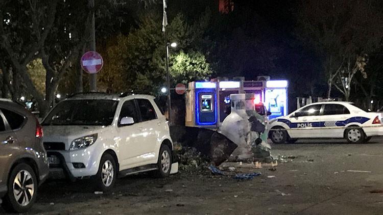 Ataşehir'de hareketli anlar... Bir anda patladı!