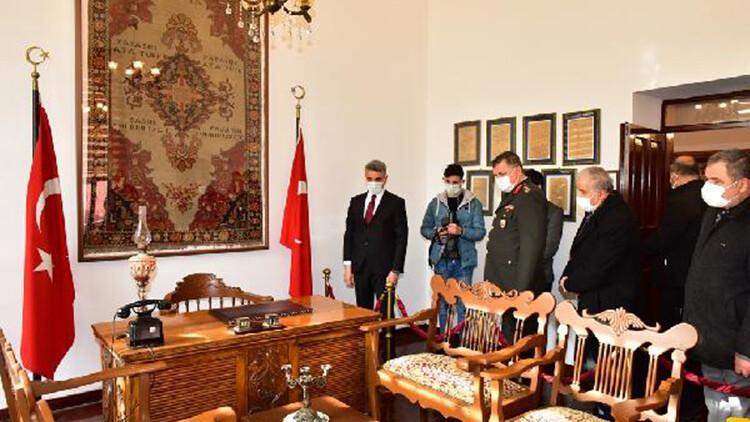 Atatürk'ün Malatya'ya gelişinin 90'ıncı yıl dönümü törenle kutlandı