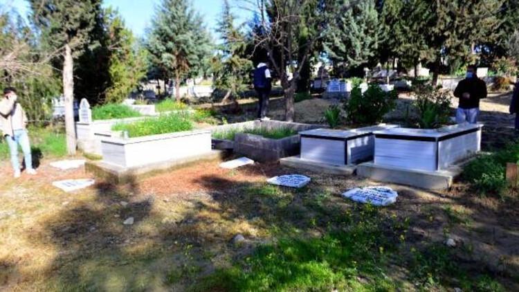 Adana'da tepki çeken olay! Şehitlerin mezarlarına zarar verilmesiyle ilgili flaş gelişme