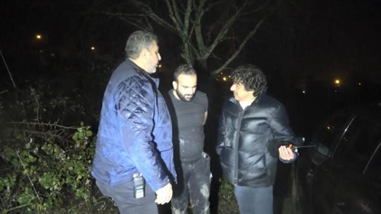 'Dur' ihtarına uymadı, 20 kilometrelik kovalamaca sonucunda yakalandı