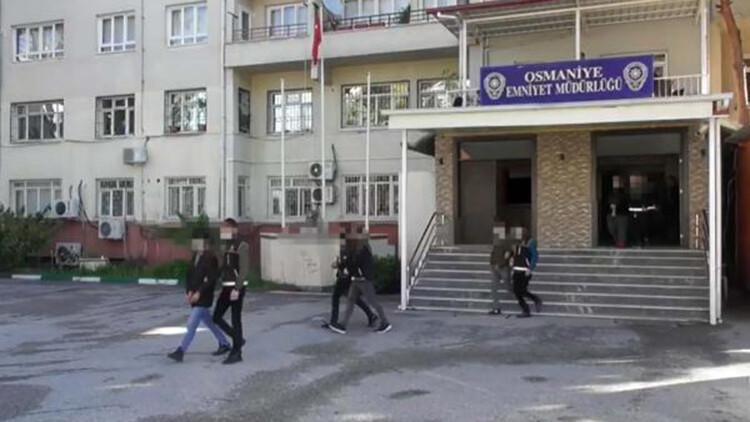 Osmaniye'de uyuşturucuya 7 tutuklama