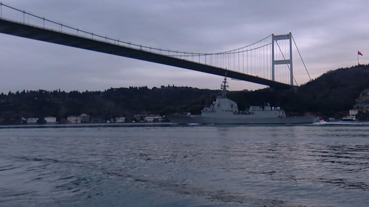 İkinci İspanya Savaş Gemisi de Karadeniz'e açıldı