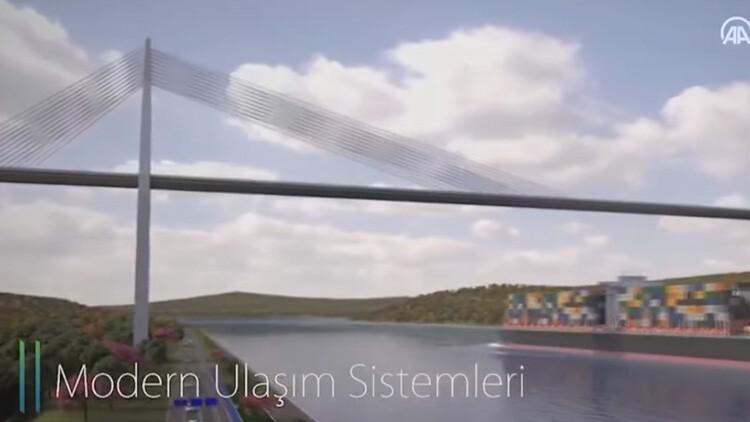 Cumhurbaşkanı Erdoğan 'müjde' olarak duyurdu: Kanal İstanbul'a başlıyoruz ve yapacağız